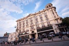 Hotel de Bristol en Varsovia Imagen de archivo libre de regalías