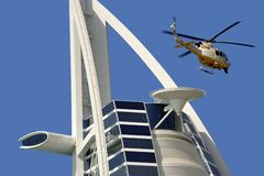 Hotel de Burj Al Arab Imagens de Stock Royalty Free