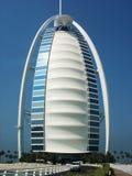 Hotel de Burj Al Arab de sete estrelas em Dubai, UAE Fotos de Stock