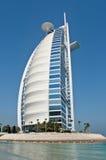 Hotel de Burj Al Arab en Dubai Foto de archivo