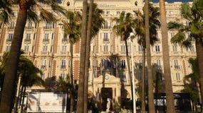 Hotel de Carlton em Cannes, França, 20o Novembre, 2013 Imagens de Stock Royalty Free