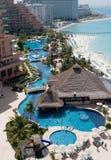 Hotel de centro turístico del Caribe Fotografía de archivo