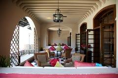 Hotel de centro turístico tropical fotografía de archivo libre de regalías