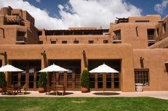 Hotel de centro turístico de New México Foto de archivo libre de regalías