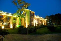 Hotel de China Imagen de archivo libre de regalías