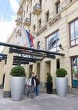 hotel de cinco estrellas del palacio de Corinthia Nevskij, St Petersburg Imágenes de archivo libres de regalías