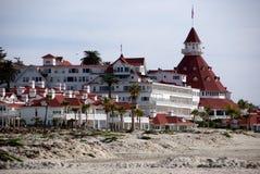 Hotel de Coronado Fotografía de archivo libre de regalías