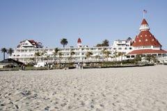 Hotel De coronado wiktoriańskie Zdjęcie Stock