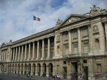 Hotel de Crillon - París Imágenes de archivo libres de regalías