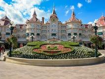 Hotel de Disneyland Imagen de archivo libre de regalías