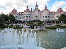 Hotel de Disneyland Fotografía de archivo libre de regalías