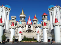 Hotel de Excalibur Foto de Stock Royalty Free