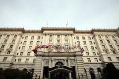 Hotel de Fairmont, Nob Hill, San Francisco Fotografia de Stock