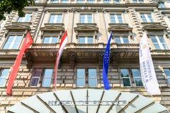 Hotel de Francia a Vienna Fotografia Stock