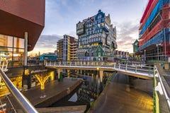 Hotel de Inntel em Zaandam, Amsterdão fotografia de stock