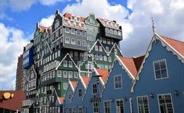 Hotel de Inntel em Zaandam, Holanda, Países Baixos imagens de stock