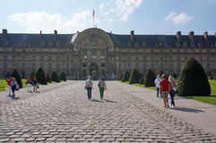Hotel de Invalides in Paris Royalty Free Stock Photo