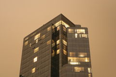 Hotel de la alta subida imágenes de archivo libres de regalías