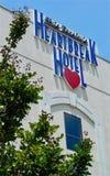 Hotel de la angustia de los €™s de Elvis Presleyâ Foto de archivo