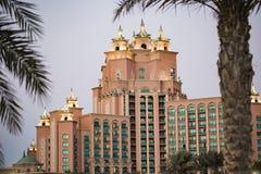 Hotel de la Atlántida, Dubai, UAE Foto de archivo