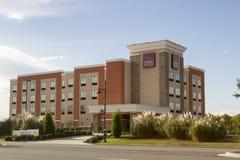 Hotel de la cadena de la marca de las habitaciones de la comodidad Fotografía de archivo libre de regalías