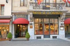 Hotel de la Cigogne Stock Photos