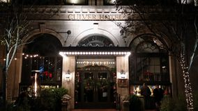 Hotel de la ciudad de Culver Imagen de archivo libre de regalías