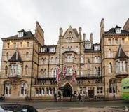 Hotel de la estrella de Macdonald Randolph Luxury cinco en Oxord central Reino Unido foto de archivo