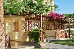 Hotel de la flor Imágenes de archivo libres de regalías