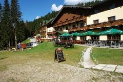 Hotel de la montaña en Jasna Fotos de archivo libres de regalías