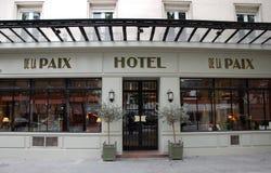 Hotel De la Paix Royalty Free Stock Images