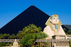 Hotel de la pirámide en Las Vegas foto de archivo