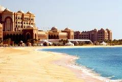 Hotel de la playa Imágenes de archivo libres de regalías