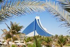 Hotel de la playa de Jumeirah, Dubai Fotografía de archivo