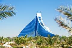 Hotel de la playa de Jumeirah, Dubai Imágenes de archivo libres de regalías