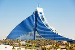 Hotel de la playa de Jumeirah, Dubai Imagenes de archivo