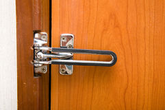 Hotel de la puerta de bloqueo Fotografía de archivo