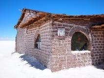 Hotel de la sal de Salar de Uyuni fotos de archivo libres de regalías