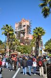 Hotel de la torre de Hollywood en el mundo de Disney Fotos de archivo libres de regalías
