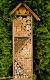 Hotel de las abejas Foto de archivo