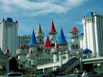 Hotel de Las Vegas - de Disney - la calle Imagen de archivo libre de regalías