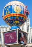 Hotel de LAS VEGAS - 14 de mayo de 2008 París Las Vegas foto de archivo libre de regalías