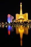 Hotel de Las Vegas París Imagenes de archivo