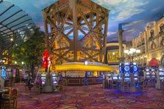 Hotel de Las Vegas, Paris Imagens de Stock