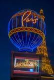 Hotel de Las Vegas, Paris Fotografia de Stock