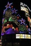Hotel de Las Vegas Riviera imagen de archivo libre de regalías