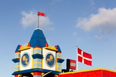 Hotel de Legoland em Billund, Dinamarca Fotos de Stock Royalty Free