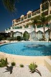 Hotel de Lindos Imagem de Stock Royalty Free