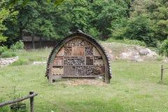 Hotel de los insectos en el parque París de la ciudad Imagen de archivo libre de regalías