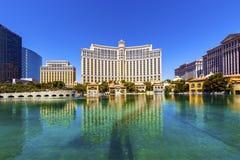 Hotel de lujo Bellagio en Las Vegas fotografía de archivo